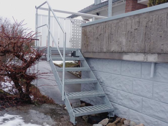 Schlosserei Kimmich | Treppen außen